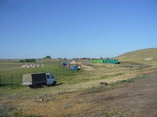 Вид на базу Аркаимские просторы с севера