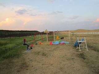 Детская площадка на турбазе
