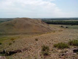 Грудь гора. Вид с северной груди на южную.