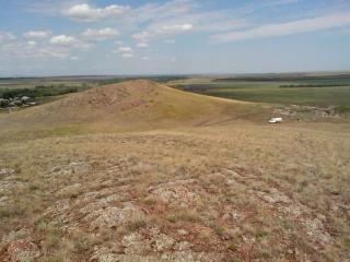 Грудь гора - Плодородия. Вид с южной груди на северную