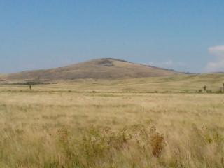 Гора Власти - Чека. Вид с юга