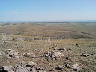 Гора Власти. Вид на восток.