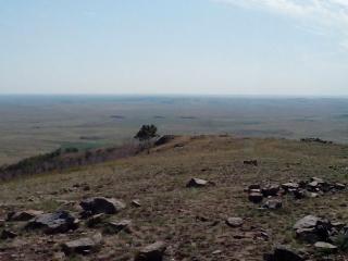 Гора Власти. Вид на  юг.