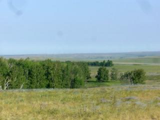 Вид с горы Откровения (Аркаим) на запад