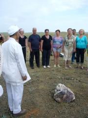 Закладка камня Заратустры на горе Богатства 6 июня 2010 года