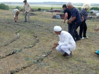 Семь кругов камней означают единства Божественной Иерархии