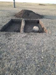 Раскопки на городище Синташта