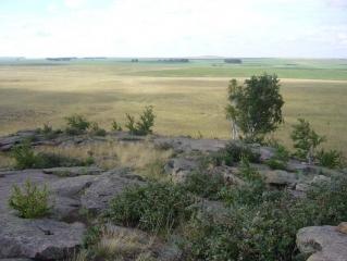 Вид с горы Семи Печатей на Запад